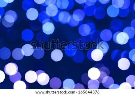 Abstract Cool bokeh background. - stock photo