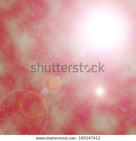 Abstract cosmic background - stock photo