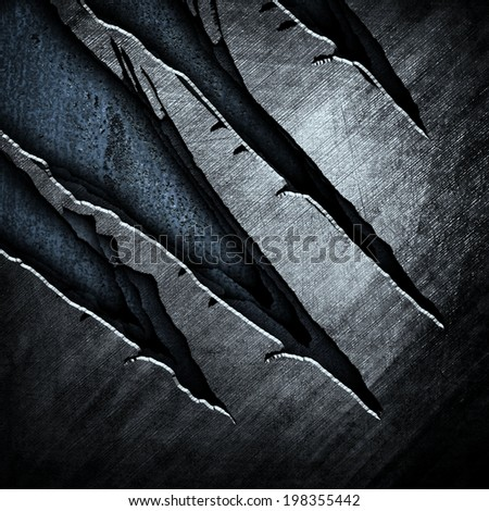 abstract cracked metal  - stock photo