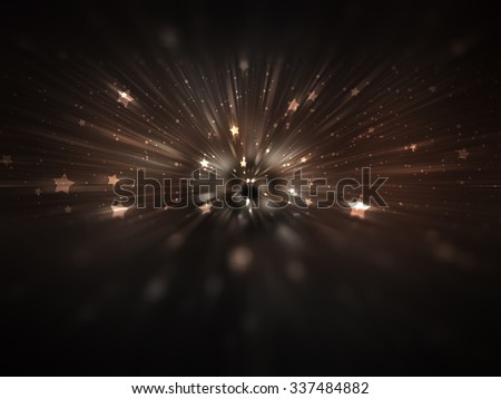 abstract cream background. explosion star
