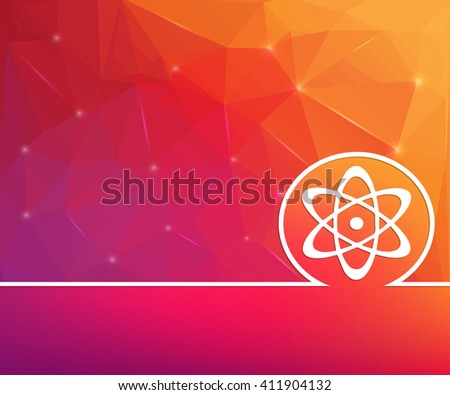 Abstract Creative concept background for Web and Mobile Applications, Illustration template design, business infographic, page, brochure, banner, presentation, booklet, document. - stock photo