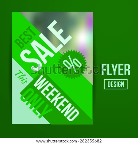 Abstract Creative Sale Flyers, can be used as poster or banner design. For shopping.