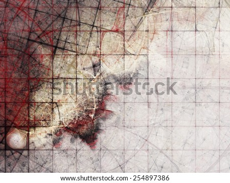 Abstract creepy background. Digitally generated image.  - stock photo