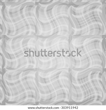 abstract curve dark grey pattern with ash smoke. raster illustration