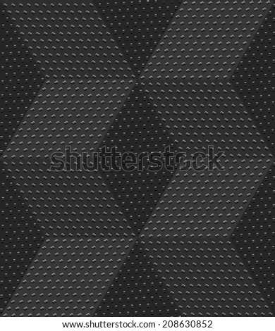 Abstract 3d geometrical seamless background. Gray 3d cubes textured with embossed dots. - stock photo