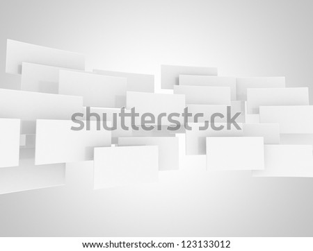 Abstract 3d squares design background - stock photo