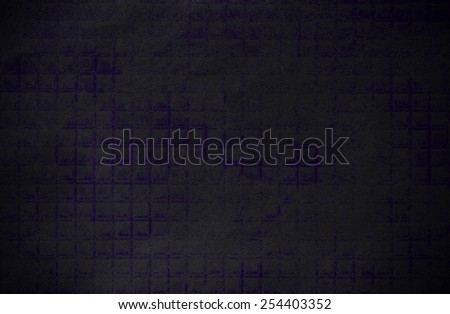 Abstract dark and blue grunge technical background paper - stock photo