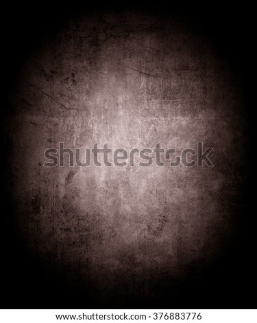 Abstract Dark Background, Old Grunge Border Frame Color Background, Vintage Grunge Background Texture Design, Monochrome Background For Printing Brochures Or Papers - stock photo