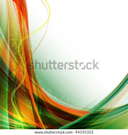 Abstract dark background with lighting effect. Rasterized version