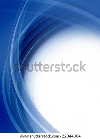 Abstract dark blue background - stock photo