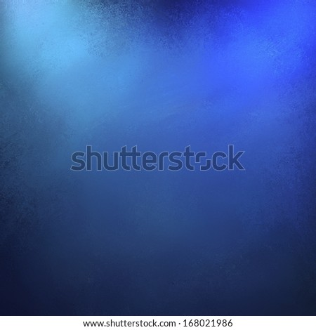 abstract dark blue background with spotlight corners and soft faded vintage grunge background texture border or frame for website or brochure designs - stock photo