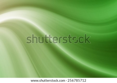 abstract dark green curve background - stock photo