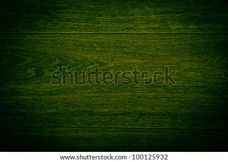 abstract dark green painted wood pattern texture - stock photo