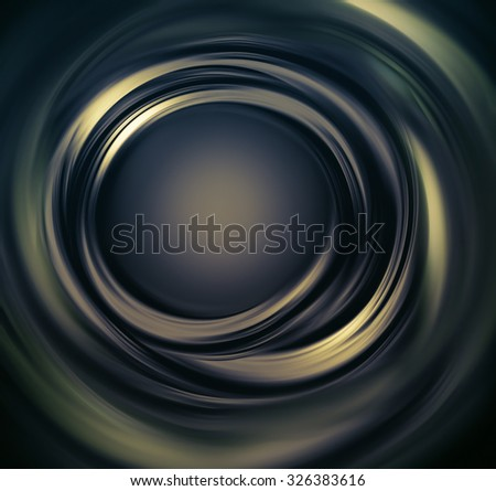 Abstract dark metallic background with concentric lines