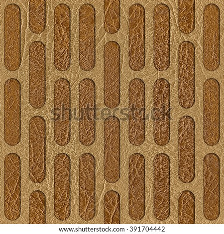 Abstract decorative grid - seamless background - leather texture. Wallpaper texture background. Fine natural structure. Interior Design wallpaper. Different colors. Repeating geometric pattern - stock photo