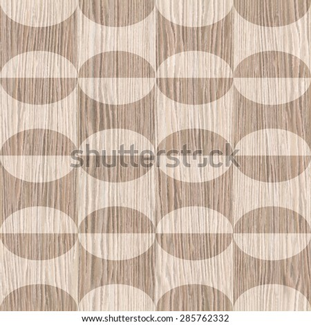 Abstract decorative texture - seamless background - Blasted Oak Groove wood texture - stock photo