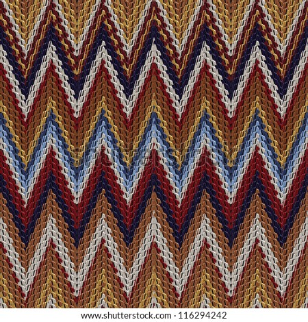 Abstract decorative textured herringbone colorful background. Seamless pattern. Illustration.