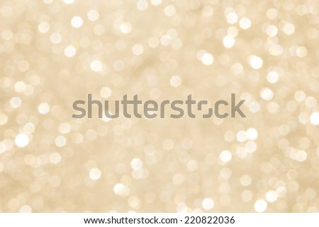 abstract defocused blurred gold background, christmas - stock photo