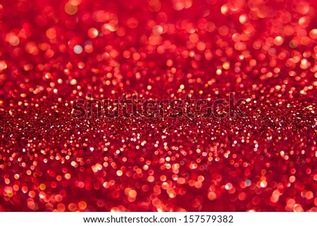 abstract defocused red background - stock photo
