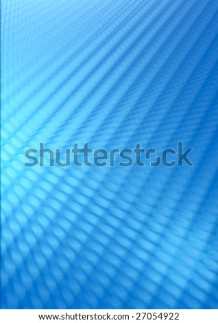 abstract design of blue perspective background