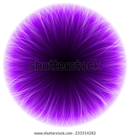 abstract design of violet magic portal (long inner tails.raster version.)