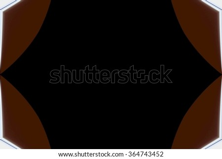 abstract design with black background