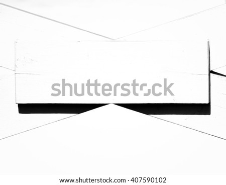 Abstract detail of an old wooden building.  - stock photo