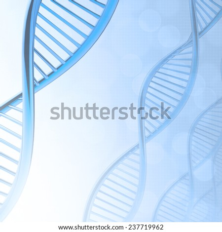 Abstract dna medical background  - stock photo