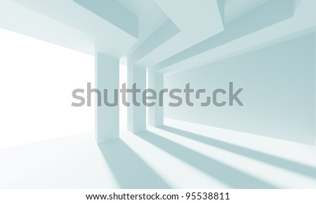 Abstract Doorway Background - stock photo