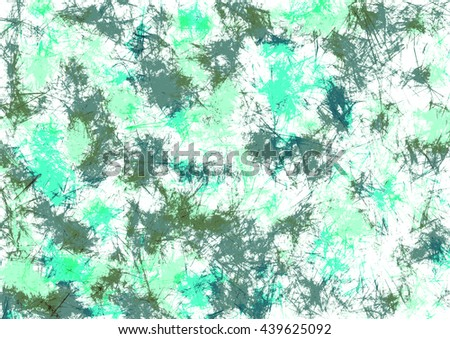 Abstract drawn watercolor crumpled bright background with colorful brushstrokes. Gorizontal artistic creative banner. Series of Watercolor, Oil, Pastel, Chalk and Inc Backgrounds. - stock photo