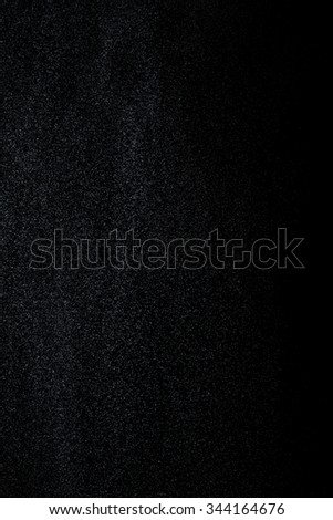 Abstract drops and splashes of water on a black background. Texture of water. Graphic design. Elements of design.