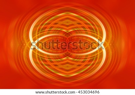 Abstract dynamic red background