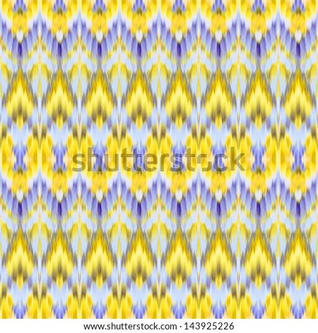 abstract ethnic ikat seamless pattern background, vintage fashion textile ornament