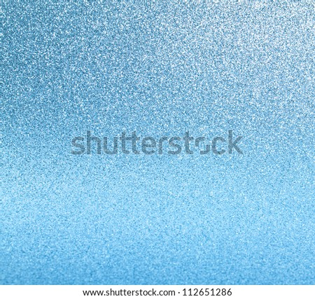 abstract festive blue background with shiny lights - stock photo