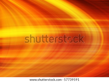 abstract fiery curve striped background - stock photo