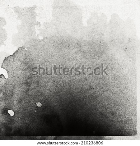 Abstract film strip texture. Contains heavy grain. - stock photo