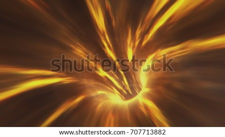 Abstract Fire Wormhole