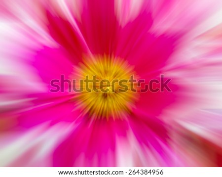 Abstract flower with motion blur, Abstract colourful background