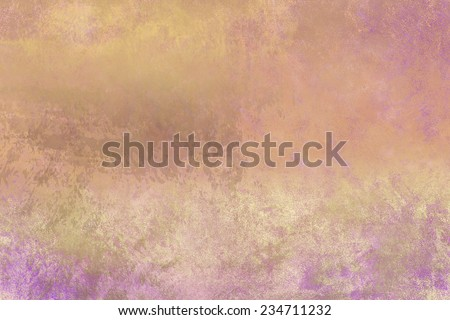 abstract  foil ,shine satin ,nacre background  with  grunge background texture ,elegant luxury gold elements , wallpaper for brochure or website background, digital design  - stock photo