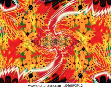 Abstract fractal background flower dance computergenerated stock abstract fractal background flower dance computer generated image beautiful abstract background for wallpaper malvernweather Image collections