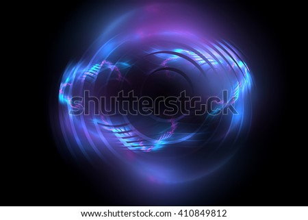 Abstract fractal light background