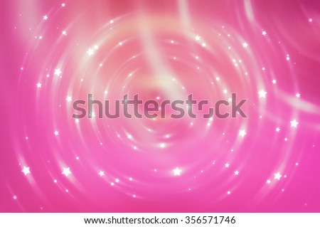 Abstract fractal pink background with crossing circles and ovals. disco lights background.