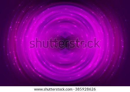 Abstract fractal pink background with crossing circles and ovals. disco lights background. - stock photo