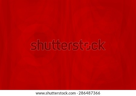 Abstract fractal red background. Magic illustration - stock photo