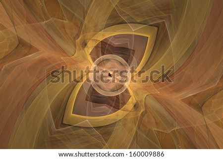 abstract fractal suitable as a background - stock photo