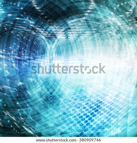 Abstract future concept background. Ideal for technology concept futuristic cover works or background designs. - stock photo