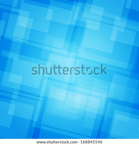 Abstract futuristic background. Blue rectangles. Element corporate and web design - stock photo