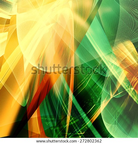 Abstract futuristic background - modern composition - stock photo