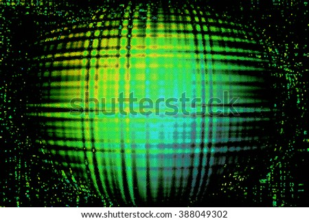 Abstract Futuristic mosaic Background
