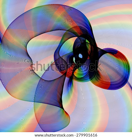 Abstract generated pattern for background and design - stock photo